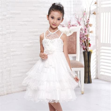 10 year old girls birthday dresses aliexpress com buy ball gown wedding dresses lace white