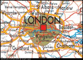 London England Map by Map Of Greater London England Uk Map Uk Atlas