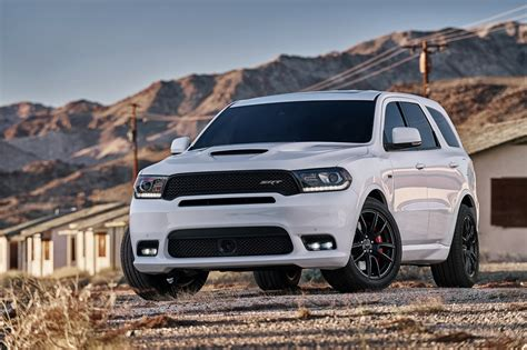 jeep durango 2018 2018 dodge durango srt is a 475hp 12 9 sec 1 4 mile three