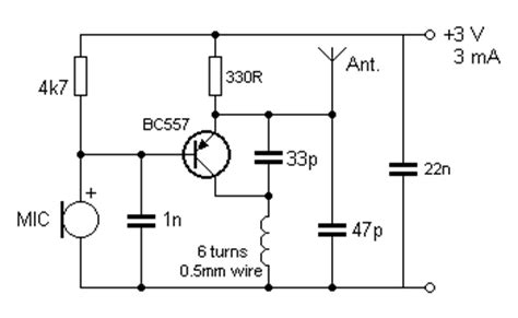 single transistor fm transmitter circuit diagram how would you build a simple transmitter and receiver from scratch without an ic unit can you
