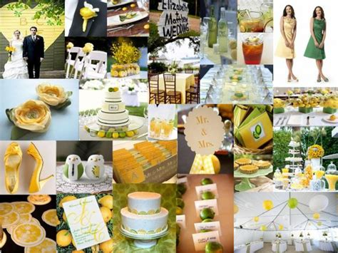Lime And Yellow Decor by Lemon And Lime Color Help Weddingbee