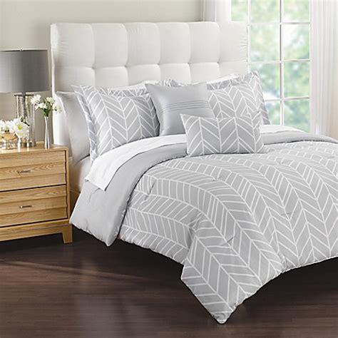 Baby Comforters Sets Lauren 5 Piece Comforter Set In Grey Bed Bath Amp Beyond