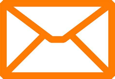 Email Orang | orange email clip art at clker com vector clip art
