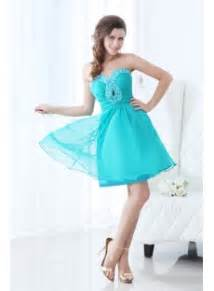 sweet teal blue short junior prom dress 1st dress com