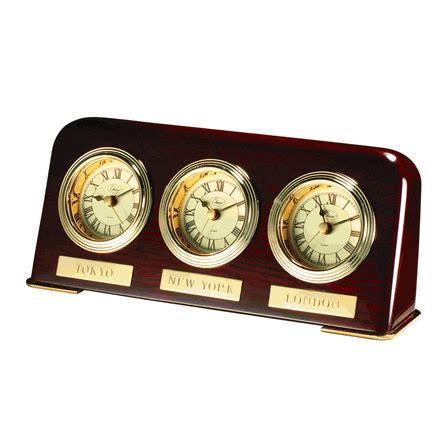 zone desk clock multi zone desk clock executive gift shoppe