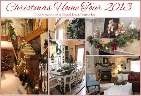 home tours christmas home tour 2014 confessions of a serial do it