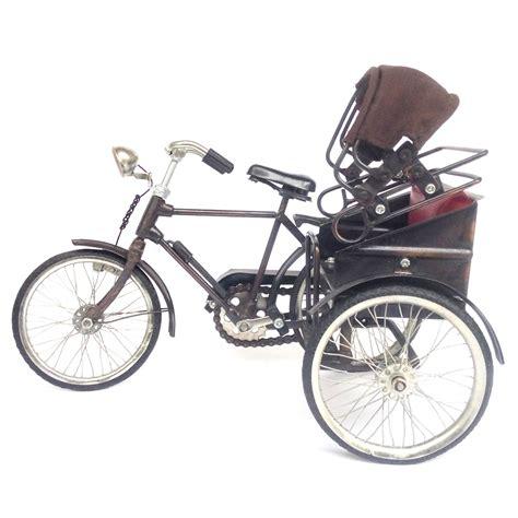 Miniatur Sepeda Besi jual miniatur sepeda medan pakai atap modemku mega sarana