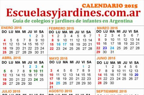 calendario escolar de argentina feriados 2015 argentina almanaque para imprimir