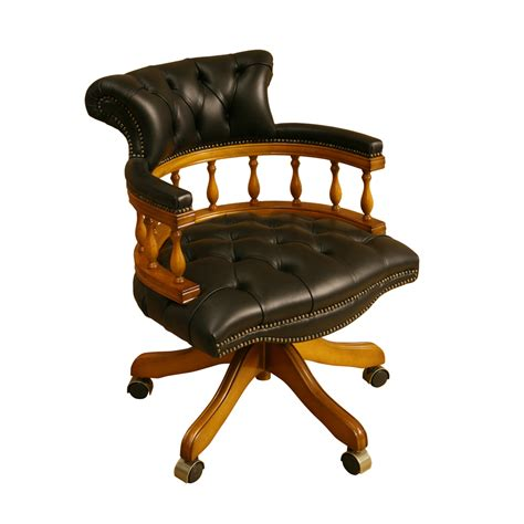 Inadam Furniture Captains Chair Choice Of Leather Captain Swivel Chair