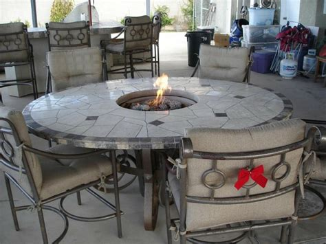 Outdoor Gas Table by Best 25 Pit Table Ideas On Diy Grill