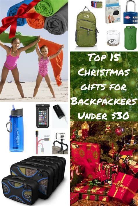top 15 useful christmas gifts for backpackers under 40