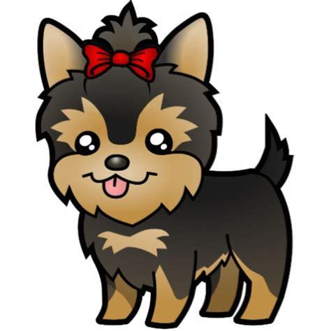 cartoon cutouts cartoon ankaperla com cartoon yorkie puppy with bow photo cutouts zazzle