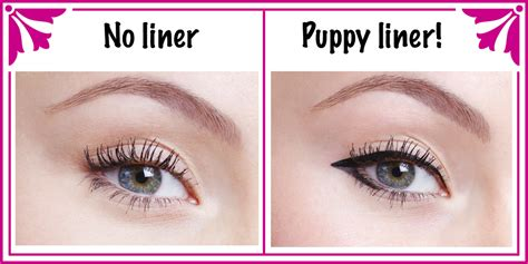 puppy eye makeup puppy eyeliner tutorial