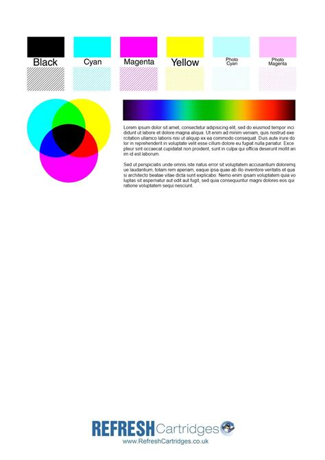 Colour Inkjet Printer Test Page Hp Color Printer Test Page