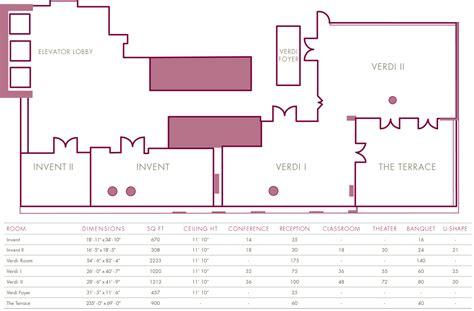 floor space planner new york event space floor plans kimpton hotel eventi