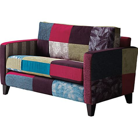 image for peggy patchwork 2 seater sofa from storename