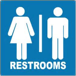 restroom sign unisex restrooms with symbol stonehouse