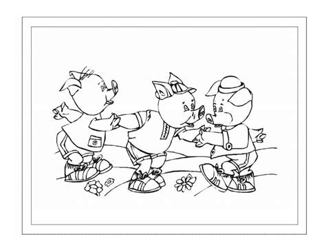 pig template for preschoolers 3 pigs coloring pages for preschoolers learning