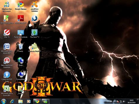 god themes for windows 10 tutoriais br garantido wallpaper god of war theme para