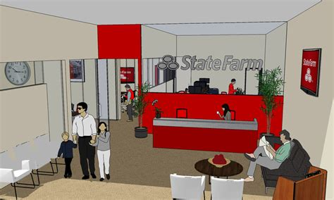 State Farm Office by State Farm Office Design Relise Designs