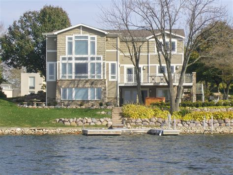 lakefront property in shorewood forest home for sale vid