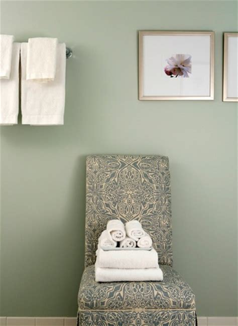 sage green bathroom paint damask chair traditional bathroom sage design