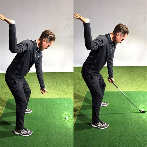 right hand golf swing thsg s top tip of the week the tray drill tim hall