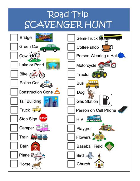 printable road trip games for preschoolers road trip alphabet eye spy google search trippin worksheet