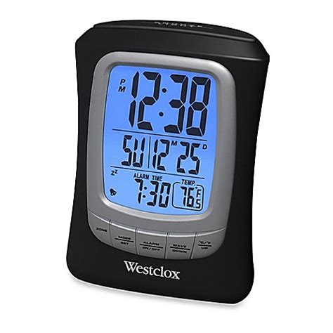 westclox loud travel alarm clock bed bath beyond