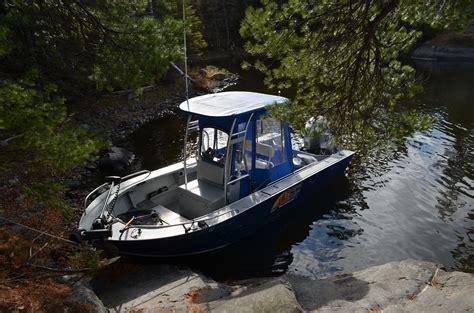 walleye fishing boats open water fishing on lake of the woods minnesota