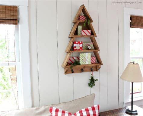 Tree Shelf Diy by That S Letter Diy Tree Shelf