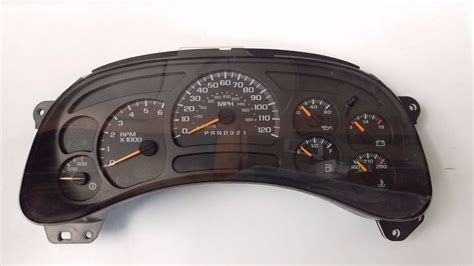 chevy silverado instrument cluster lights chevy silverado gauges autos post