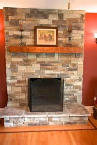 Make A Stone Fireplace Without Stone Faux Direct » Ideas Home Design