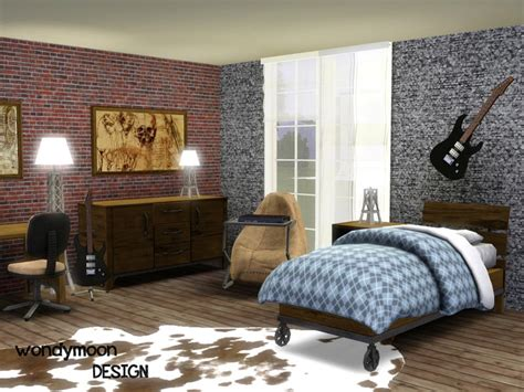 bedroom sims 3 wondymoon s rhodium teen bedroom