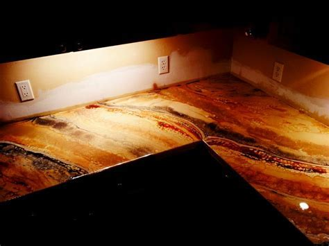 1000  images about Countertop Epoxy on Pinterest   Diy countertops, Copper and Home