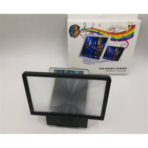 Enlarge Screen Magnifier Bracket Stand 3d With Speaker Murah enlarge screen magnifier bracket stand 3d with speaker for