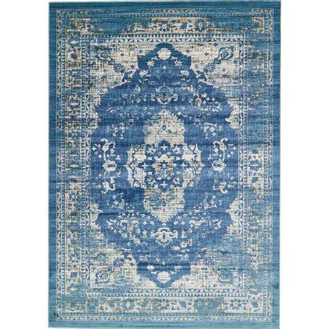 copenhagen rug unique loom copenhagen navy blue 8 ft x 11 ft 4 in area rug 3128875 the home depot
