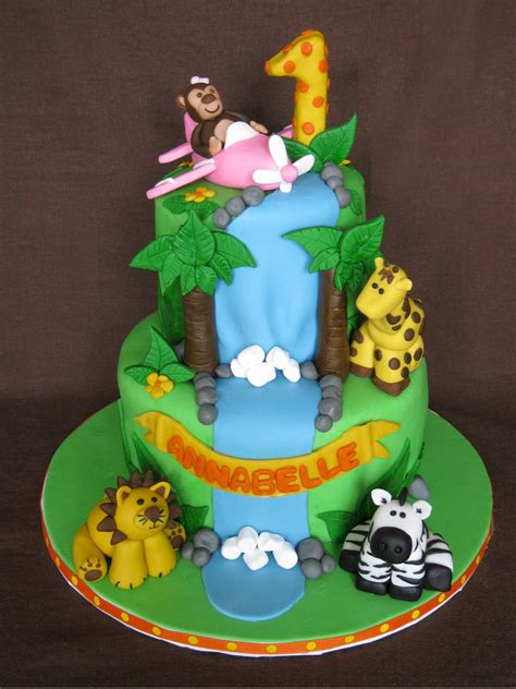 jungle themed birthday cake jungle birthday cake sweet buttercream