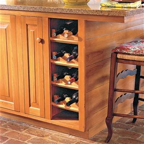 shelf insert for cabinet make space for wine bottles by removing the door on a base