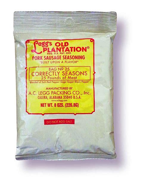 ac legg  pork sausage seasoning