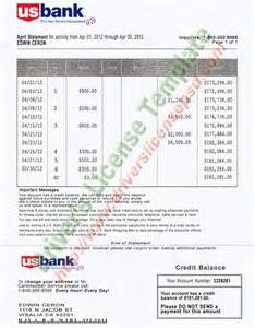credit card security policy template u s bank statement psd bank statement psd