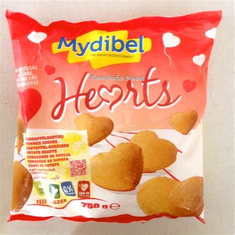 goodwin food mydibel kentang goreng bentuk karakter