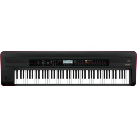 Keyboard Korg korg 88 synthesizer workstation keyboard black dv247