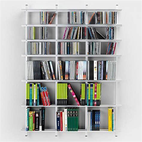 wandregal bücher weiß dvd cd regal leiter aluminium beste bildideen zu hause