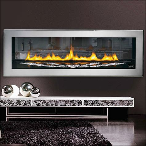 napoleon lhd50ss swarovski direct vent gas - Modern Direct Vent Gas Fireplace