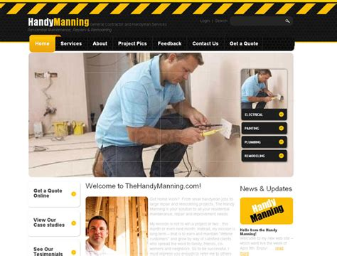 home improvement websites dallas home improvement web designer your web guys