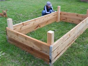 strubgrass manor backyard planter box build installation