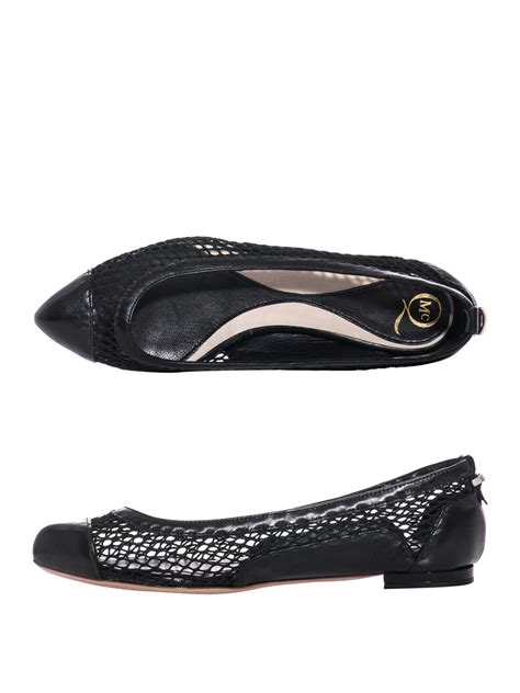 mcqueen flat shoes mcq mcqueen mesh flat shoes womof