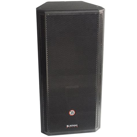 Speaker Legacy 15 Inch dual 15 inch two way passive speaker kxt215 blastking