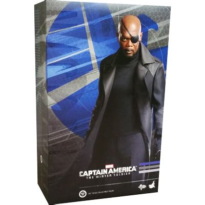 Toys Nick Fury The Winter Soldier Misb captain america the winter soldier nick fury toys machinegun